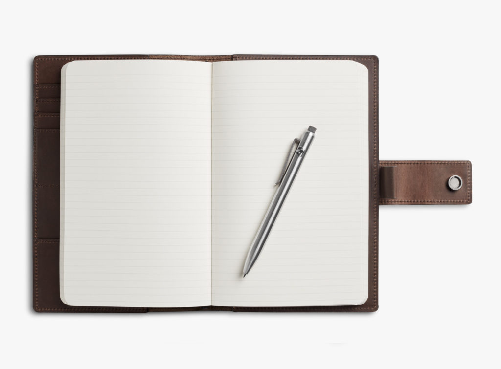 Guide Noël 2019 Idées Cadeaux Shinola Carnets Journal Crayon Titane