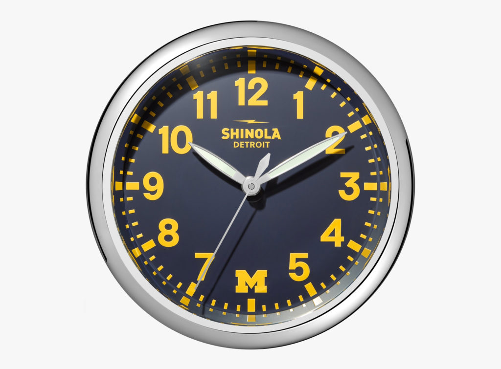 Guide Noël 2019 Idées Cadeaux Shinola Horloge The Runwell Clock