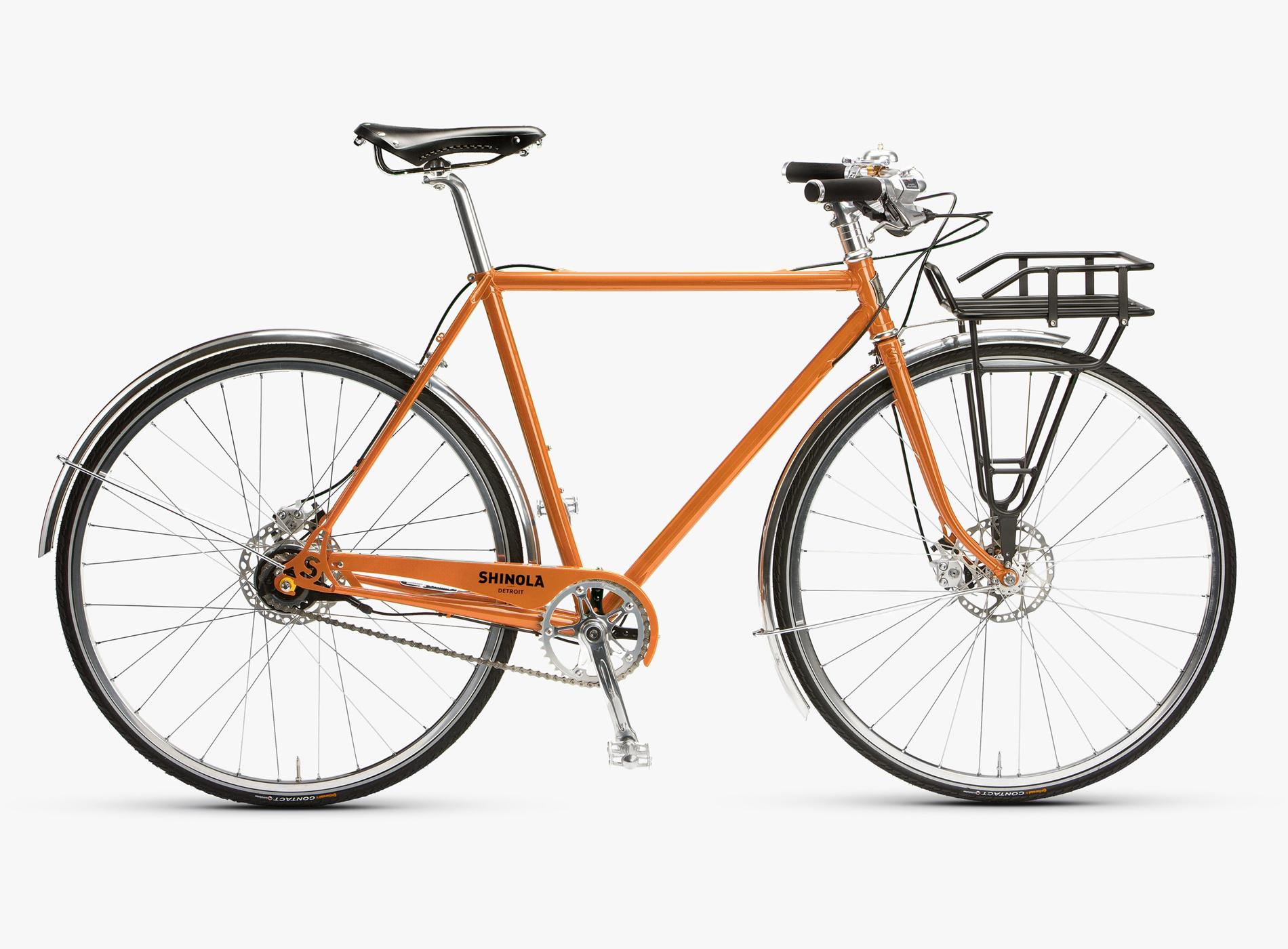 Guide Noël 2019 Idées Cadeaux Shinola Vélos Homme The Runwell Orange
