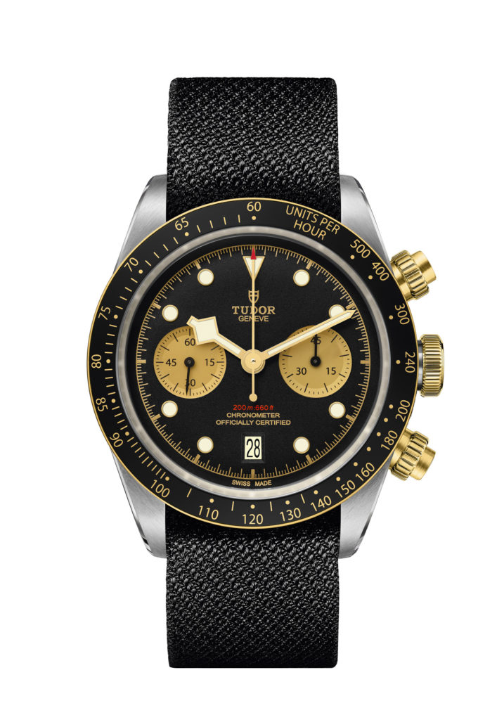 Montre Tudor Black Bay Chrono Silver& Gold
