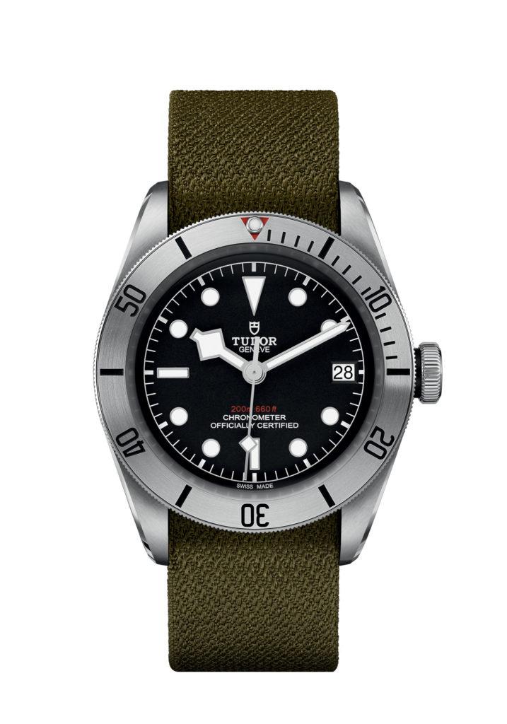 Montre Tudor Black Bay Steel Bracelet Tissu