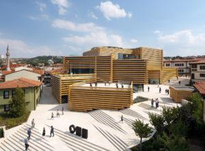 Odunpazari Modern Museum Musée Art Contemporain Eskisehir Turquie