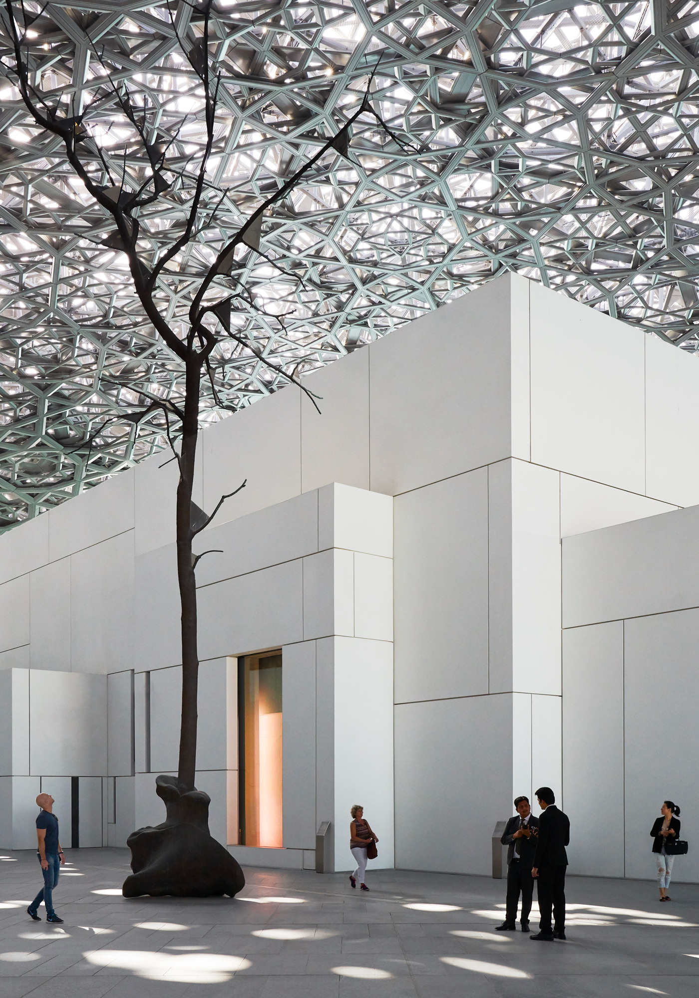 Louvre Abou Dabi Musée Emirats Arabes Unis Atelier Jean Nouvel