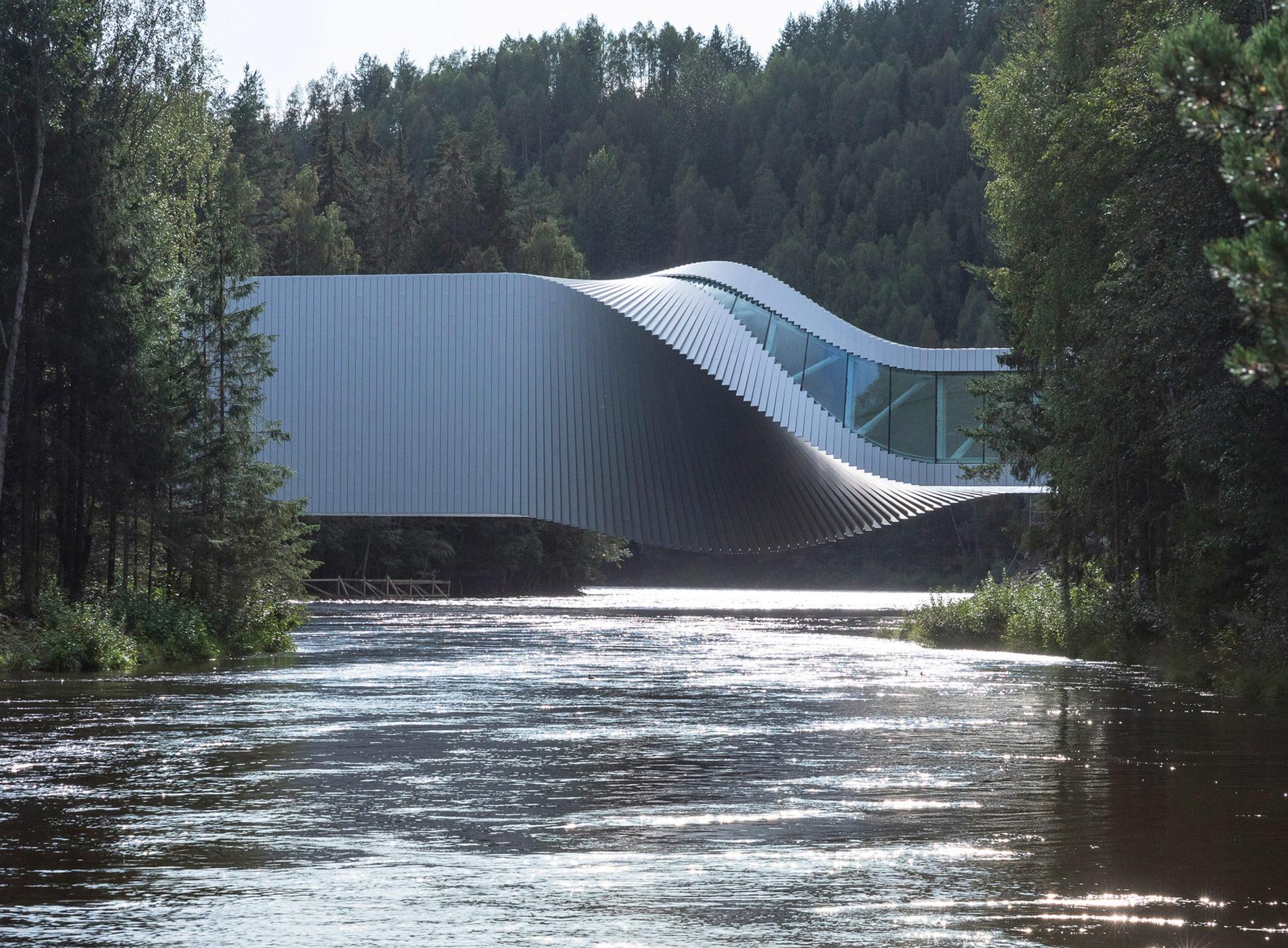 The Twist Art Gallery Kistefos Sculpture Park Oslo Norvège