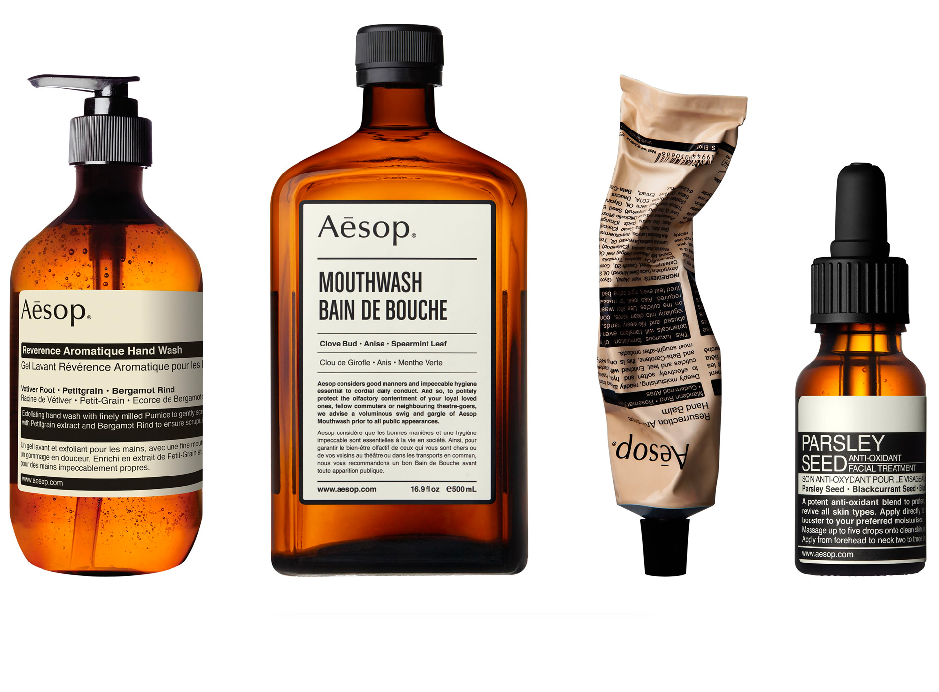 Aesop Livre Rizzoli Packaging Skincare