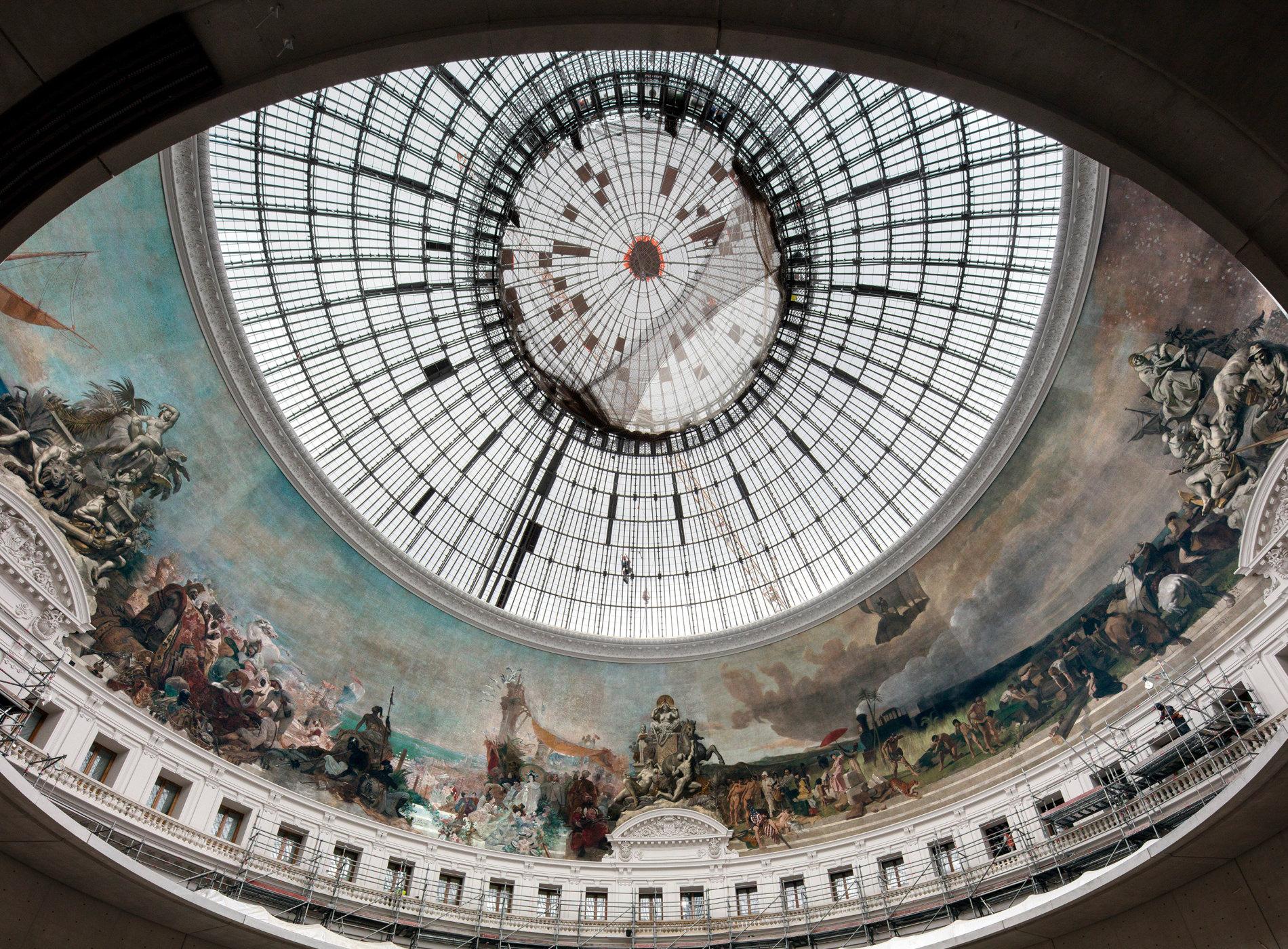 Bourse Commerce Paris Collection Pinault Chantier