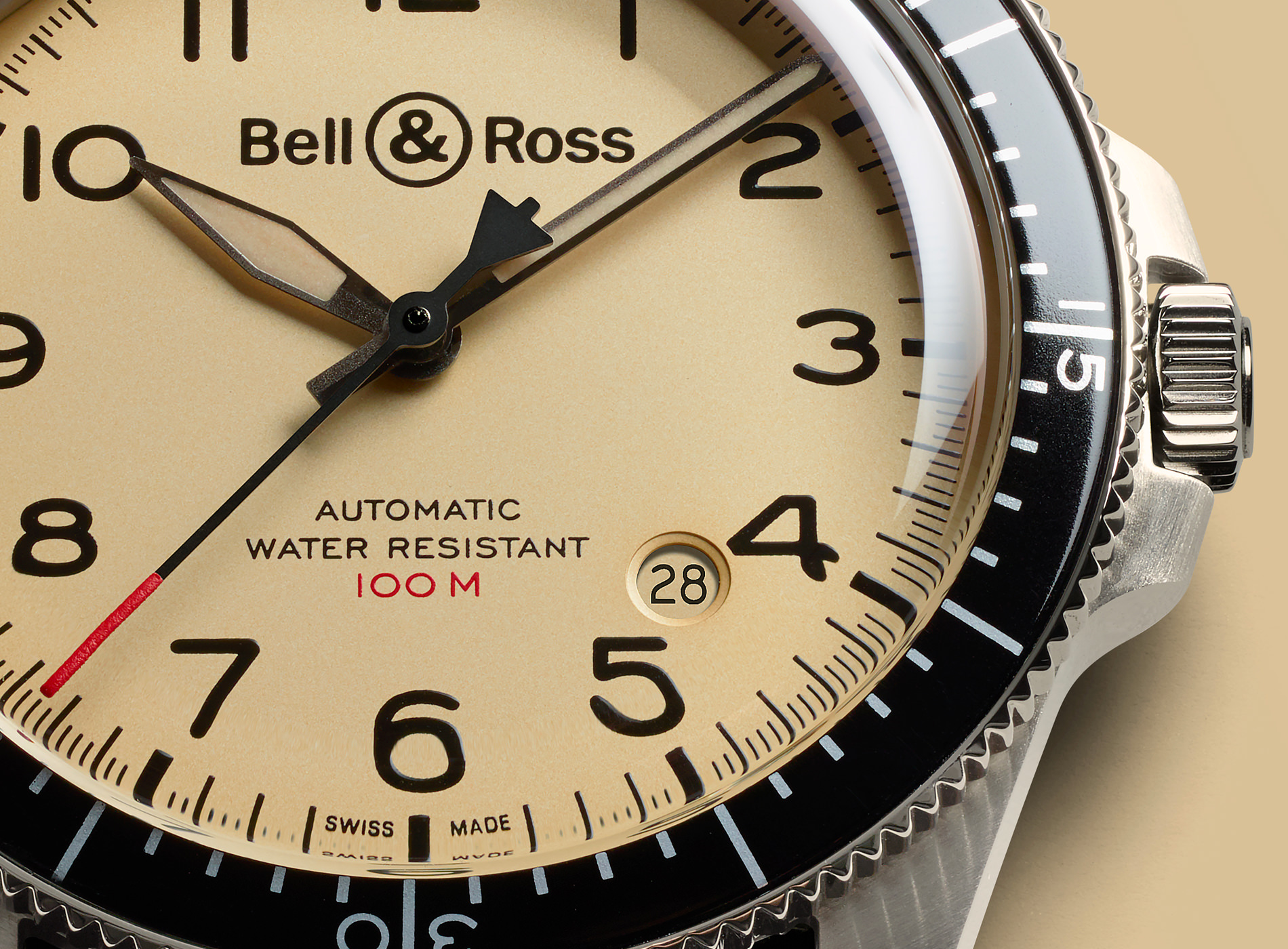 Montre Bell & Ross Collection BR V2 92 Military Beige (Nato)