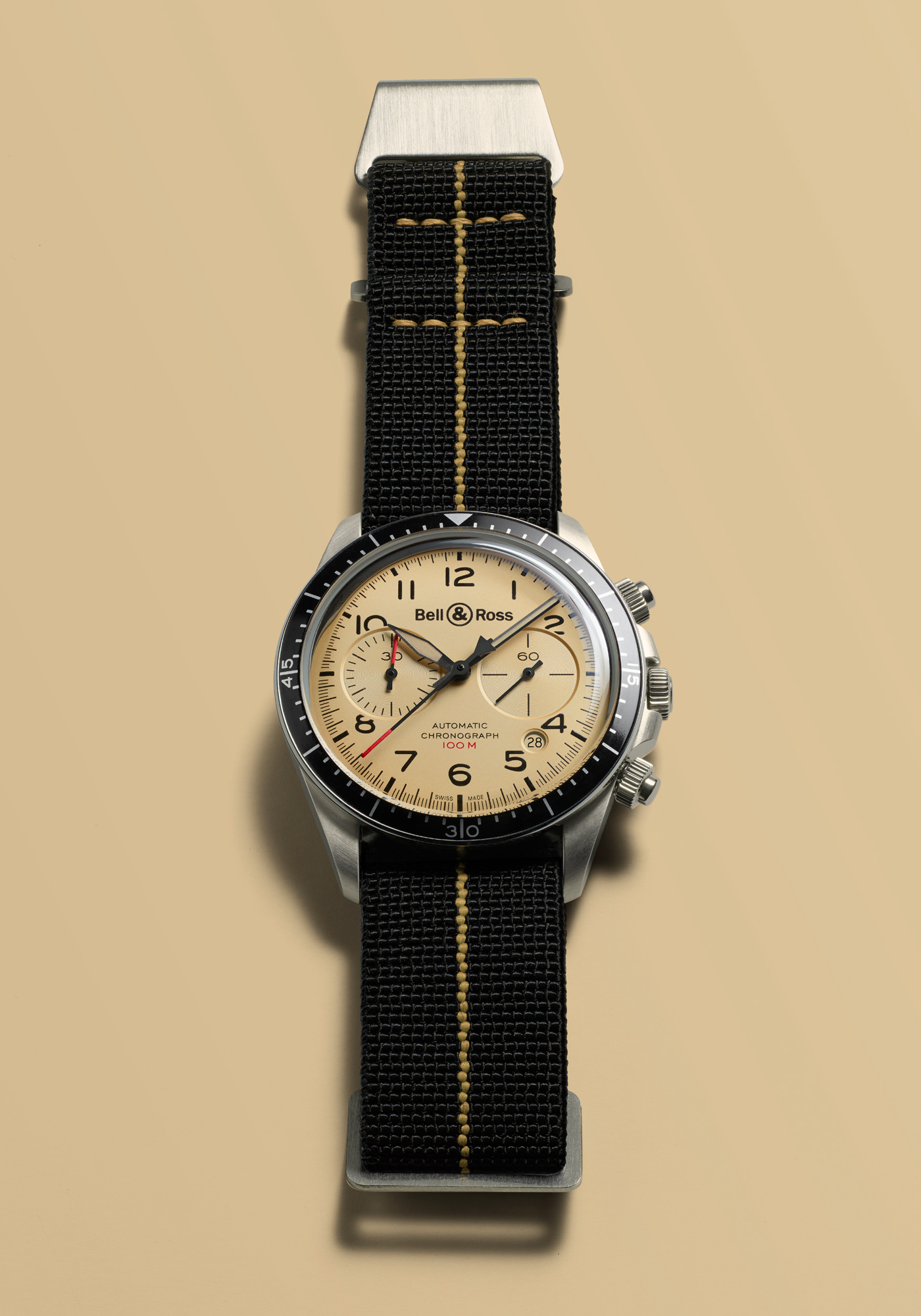 Montre Bell & Ross Collection BR V2 94 Military Beige