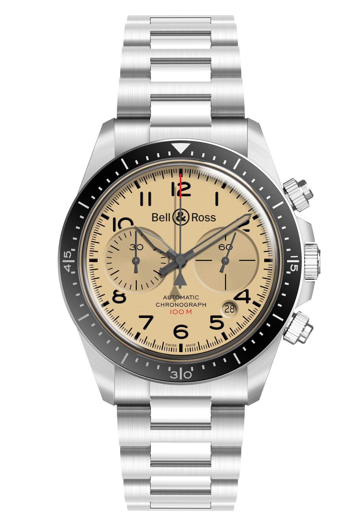Montre Bell & Ross Collection BR V2 94 Military Beige (Metal)