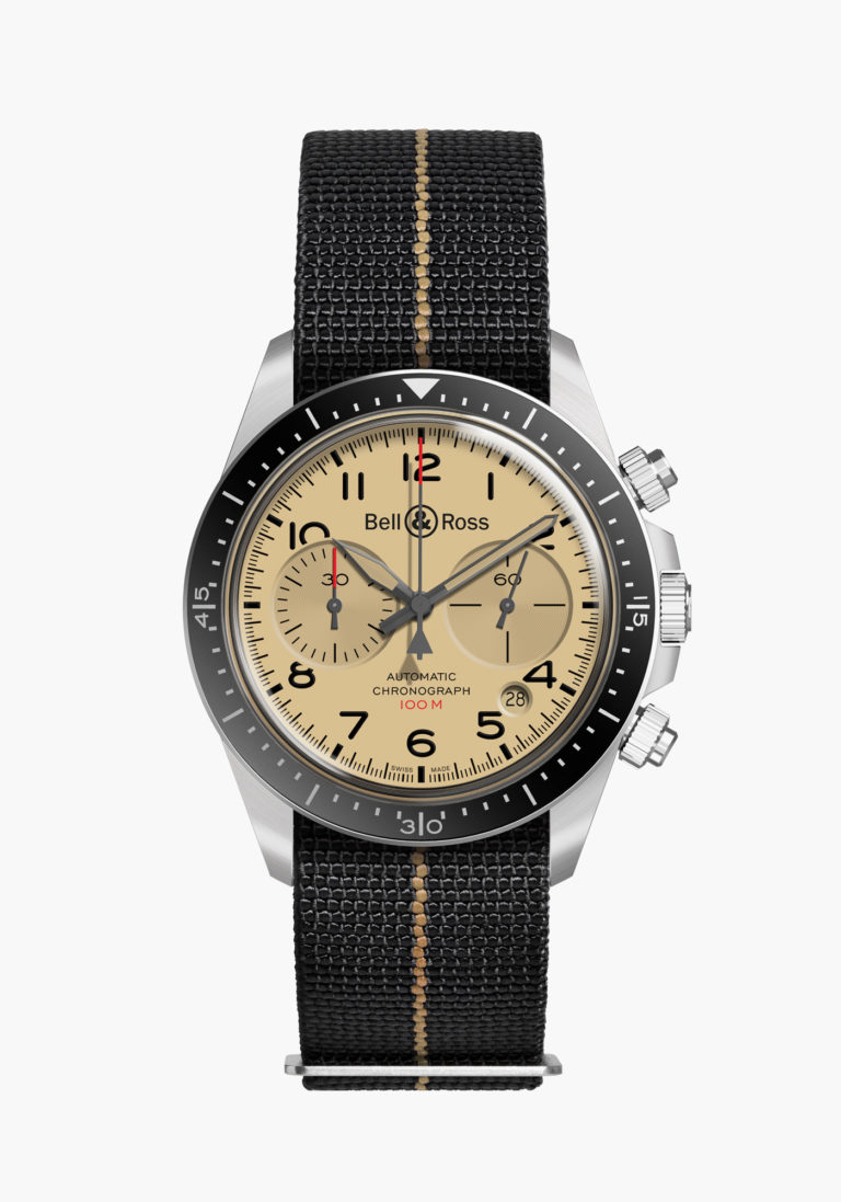 Montre Bell & Ross Collection BR V2 Military Beige