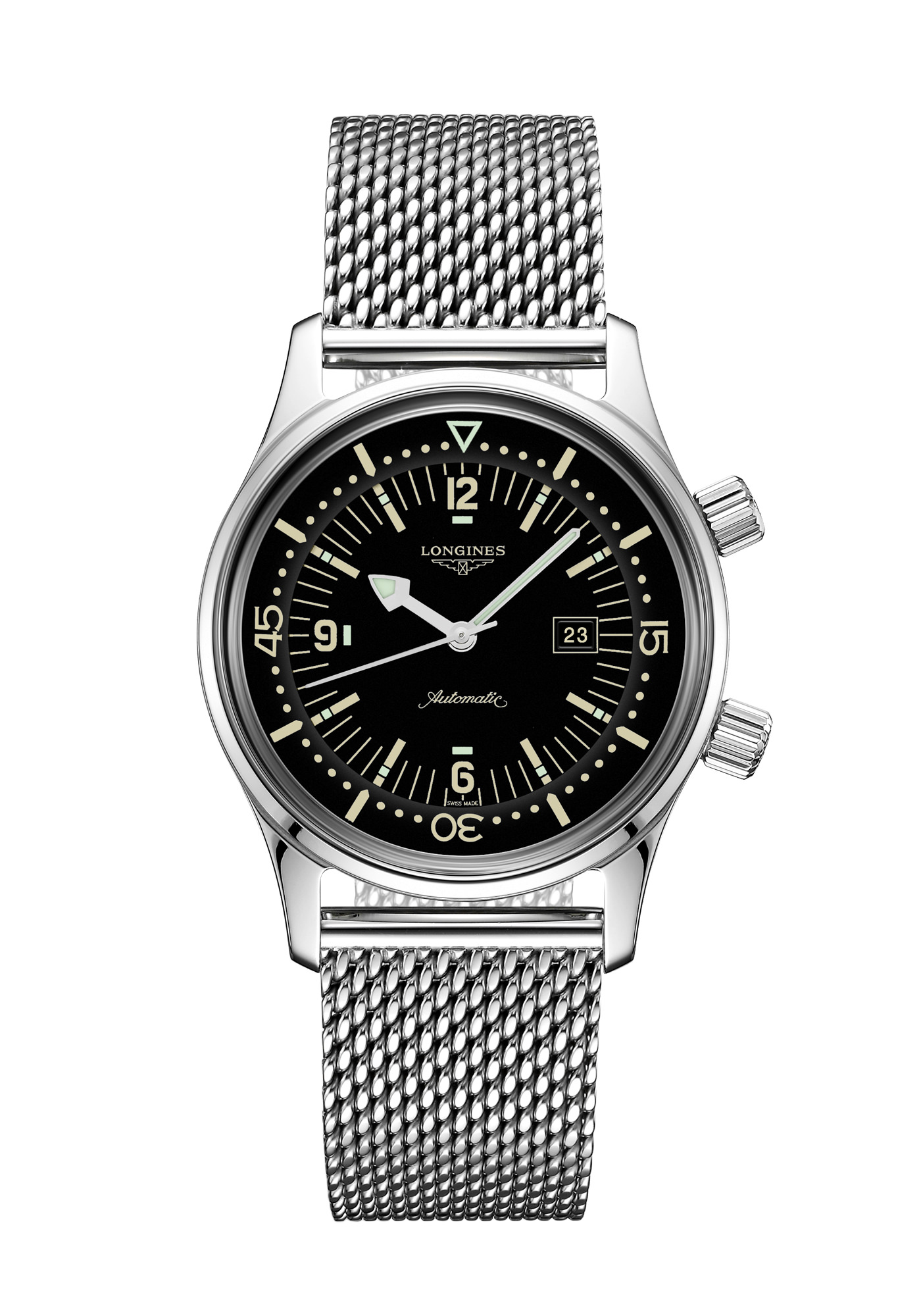 Montre Longines Collection Heritage Legend Diver Watch 36mm