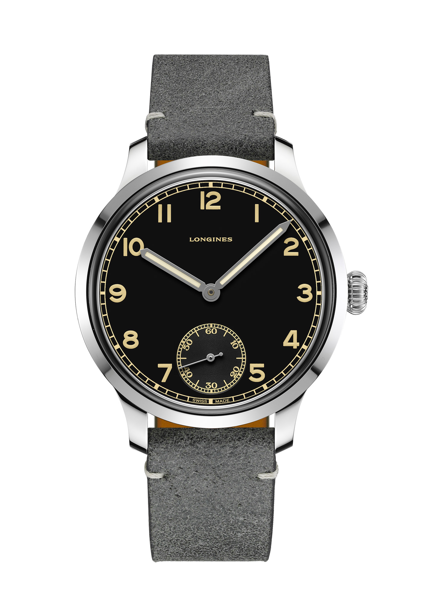 Montre Longines Collection Heritage Military 1938
