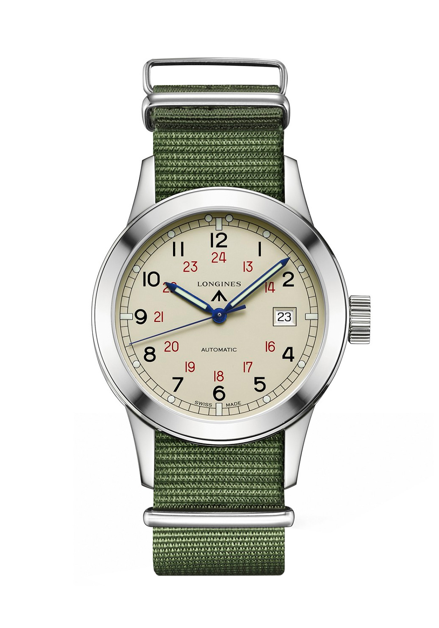 Montre Longines Collection Heritage Military COSD