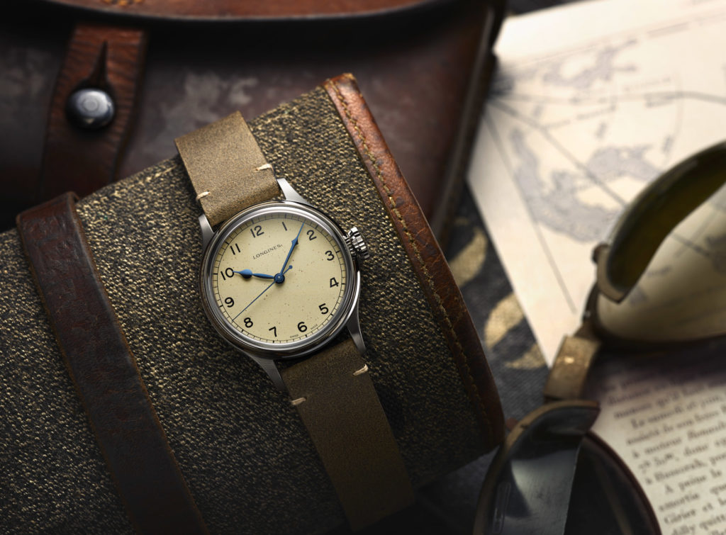 Montre Longines Collection Heritage Military