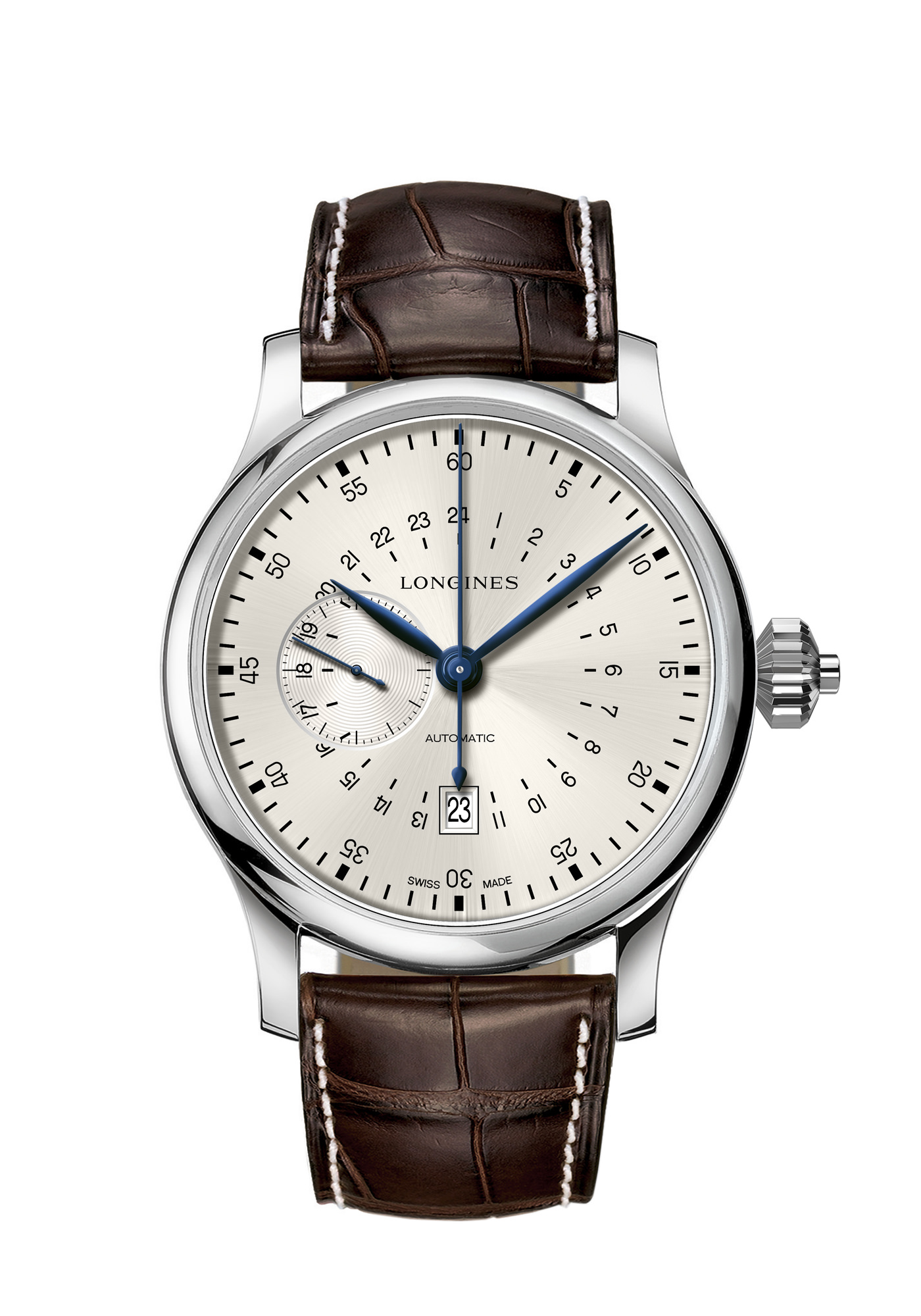 Montre Longines Collection Heritage Twenty Four Hours Single Push Piece Chronograph
