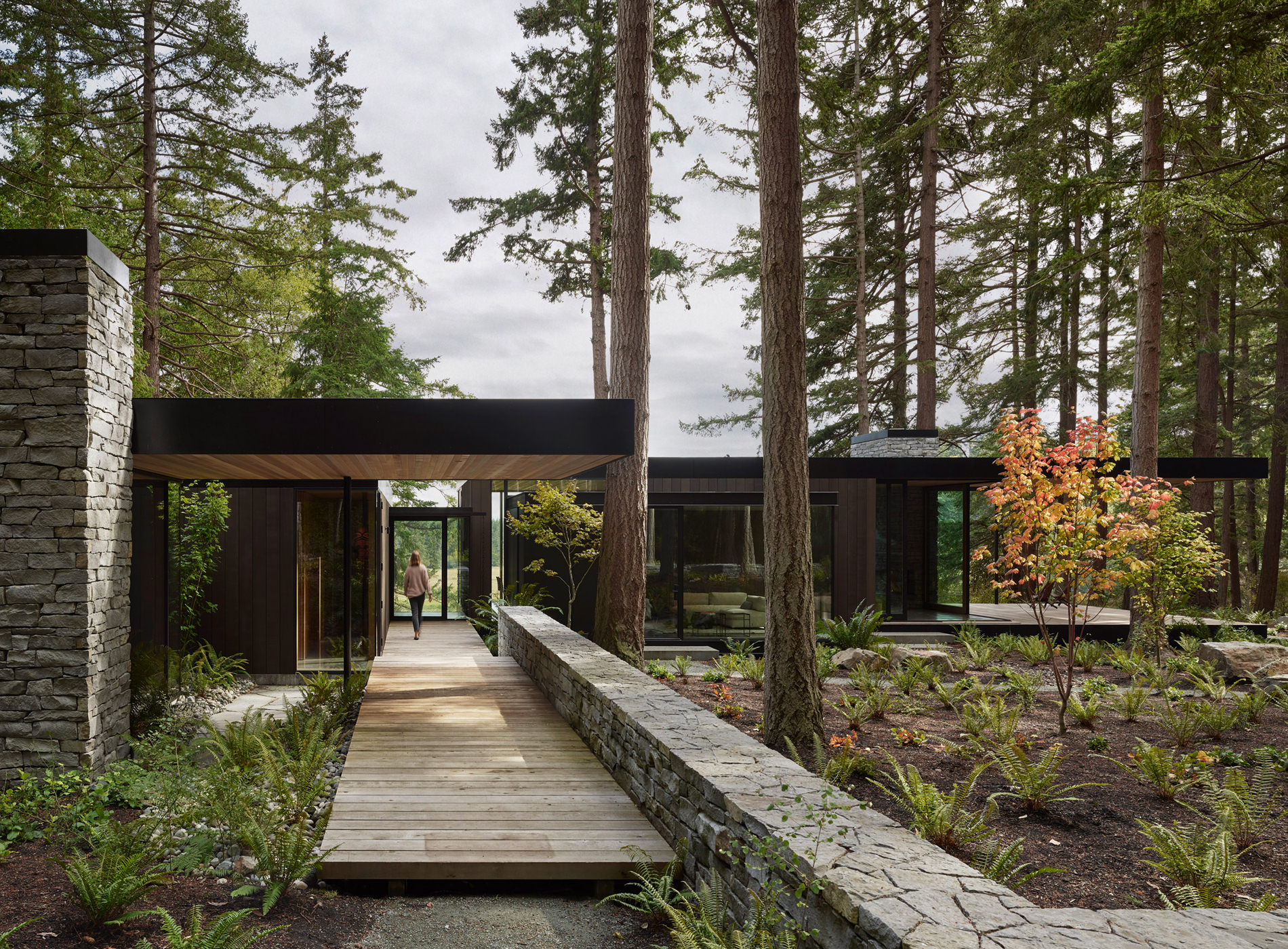 Whibdey Island Farm House Architecture Retreat Washington USA