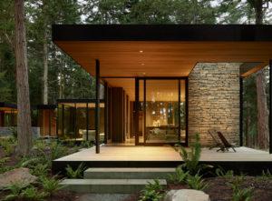 Whibdey Island Farm House Architecture Retreat Washington USA