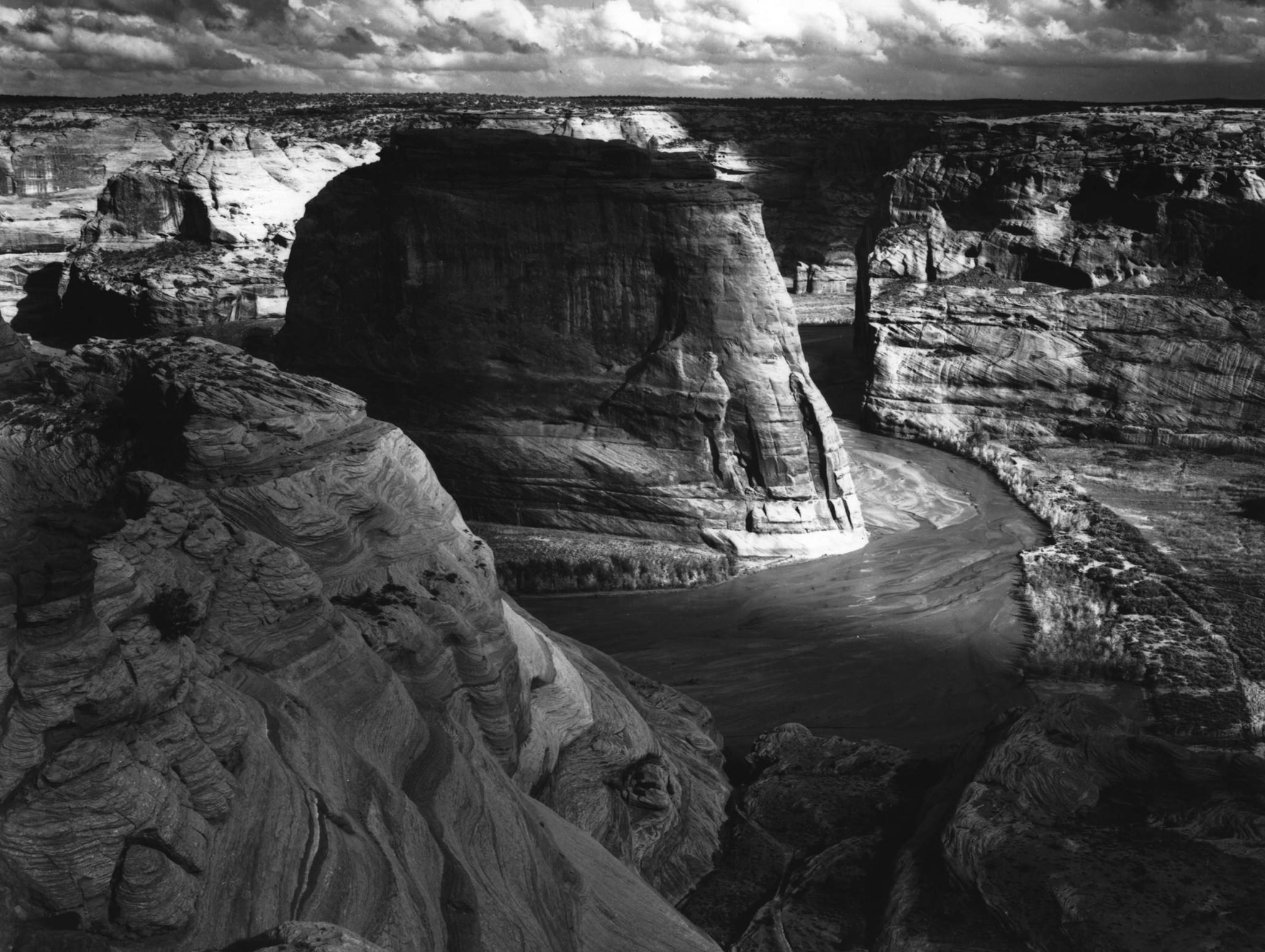 Ansel Adams Canyon De Chelly National Monument Arizona 1942