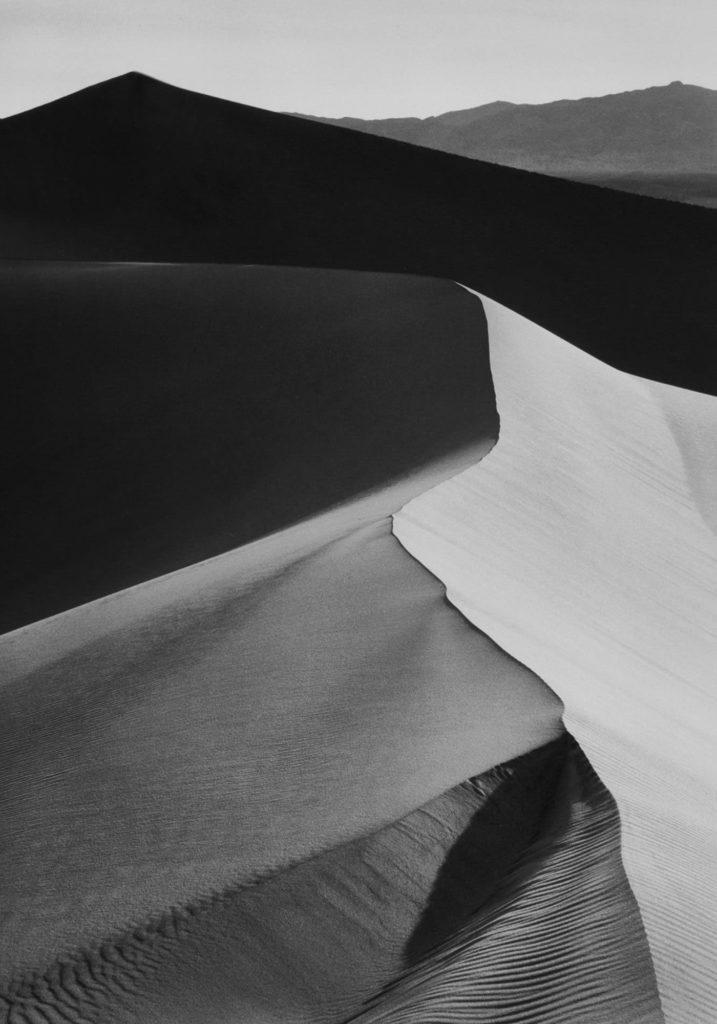 Ansel Adams Sand Dunes Sunrise Death Valley National Monument California 1948 (Cover)