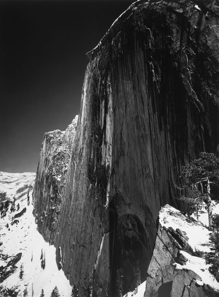 Ansel Adams Monolith The Face Of Half Dome Yosemite National Park 1927