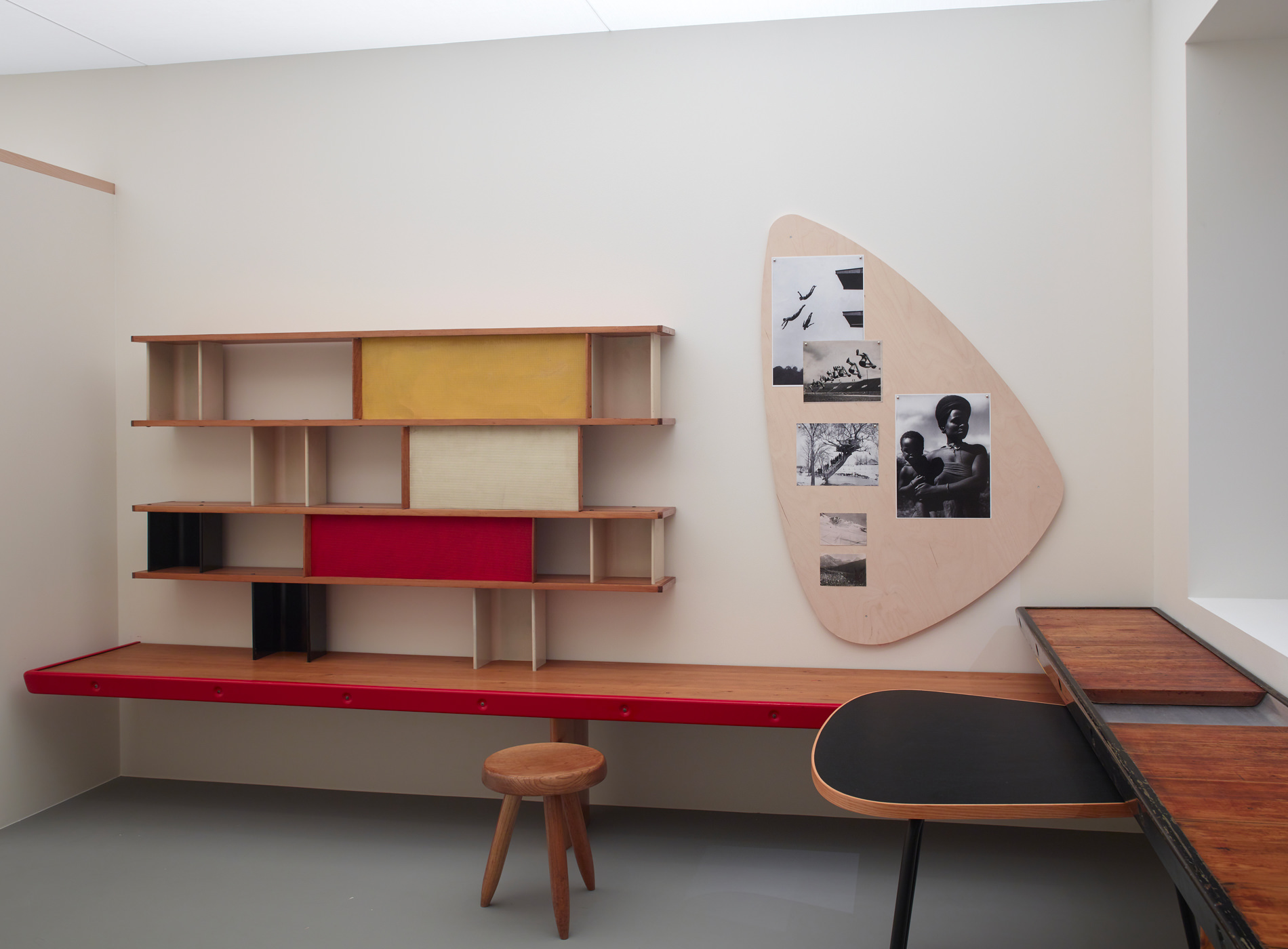 Fondation Louis Vuitton — Charlotte Perriand Maison de la Tunisie. Chambre d'Etudiant, Cité Universitaire Internationale de Paris 1952