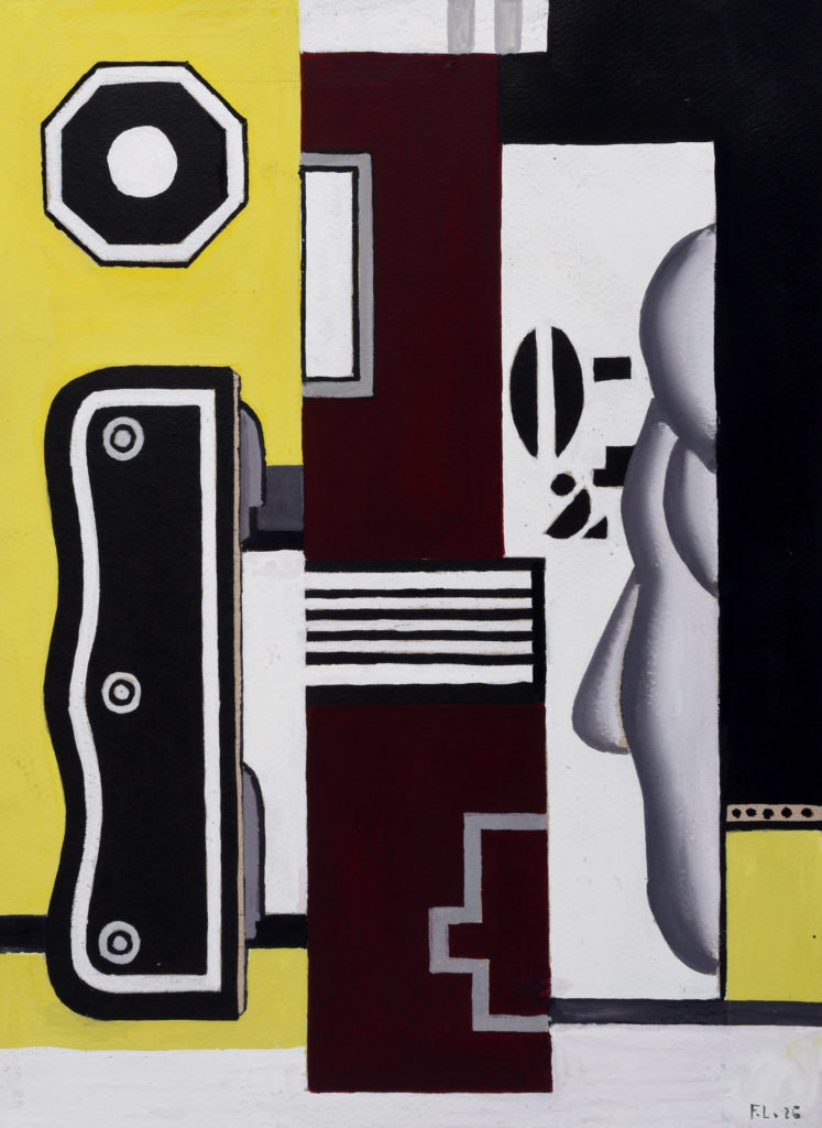 Fondation Louis Vuitton — Fernand Leger, Le Profil, 1926
