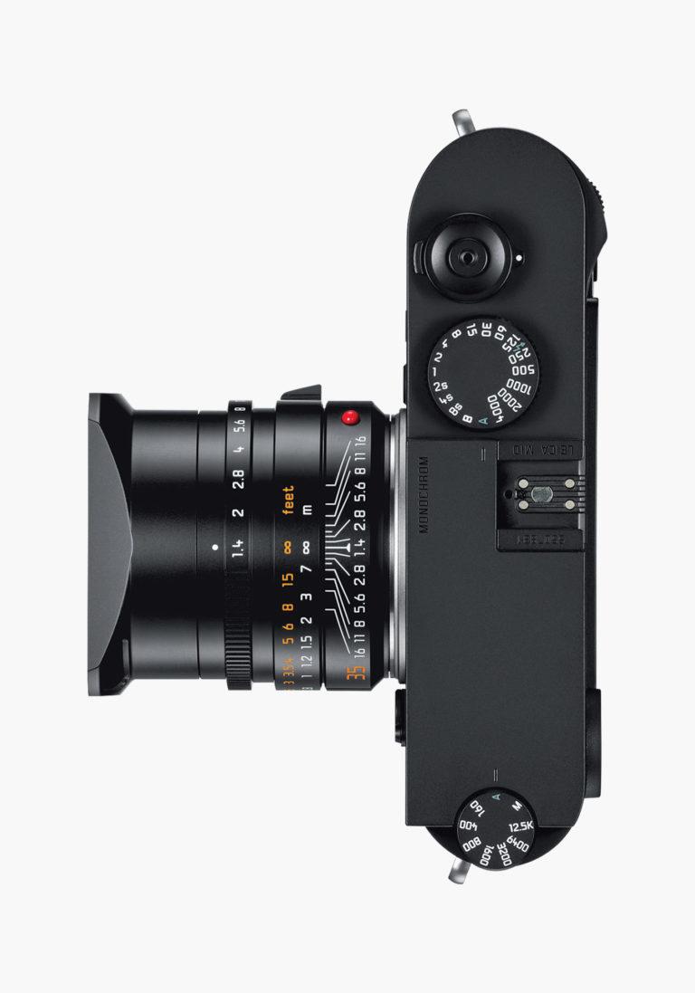 Leica M10 Monochrom Capteur 40Mpx Noir et Blanc