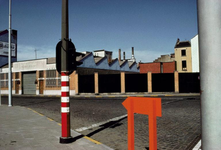 Photographie Kodachrome Harry Gruyaert Belgique Bruxelles Midi 1981v