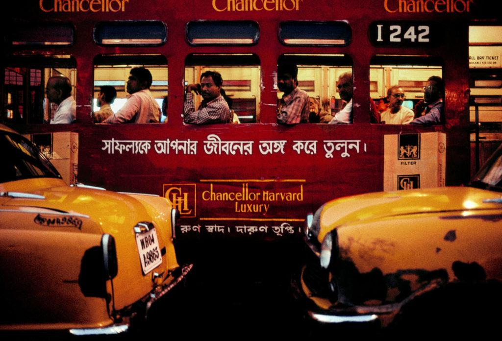 Photographie Kodachrome Harry Gruyaert Inde Calcutta 2001