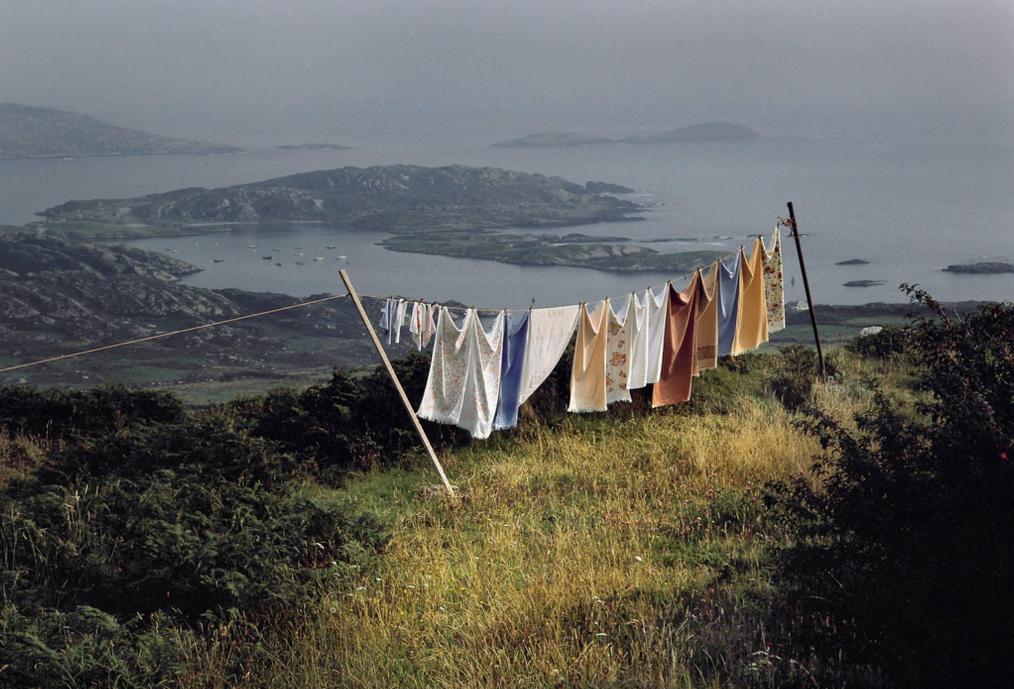Photographie Kodachrome Harry Gruyaert Irlande Côte Ouest Comte Kerry 1988
