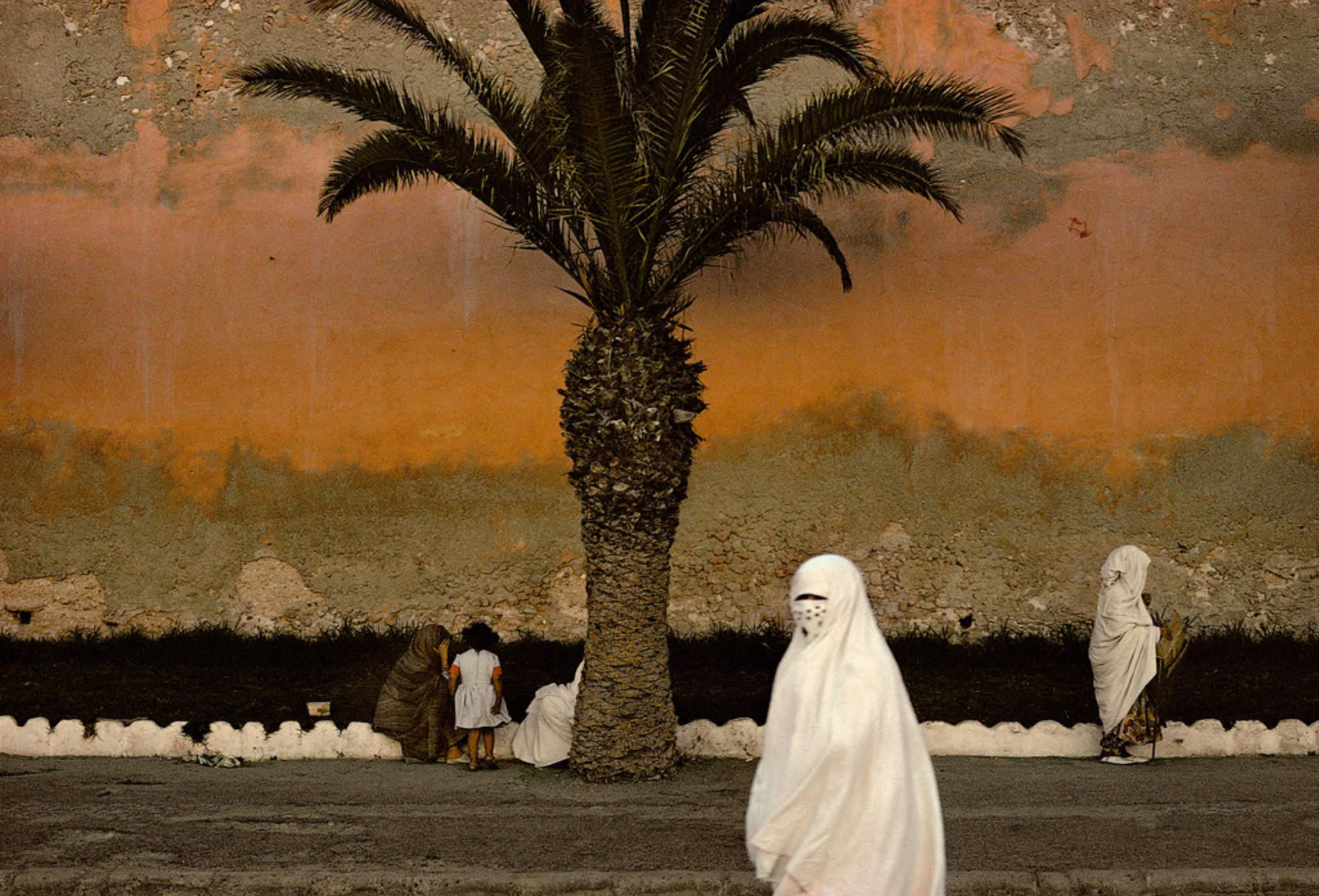 Photographie Kodachrome Harry Gruyaert Maroc Essaouira 1975