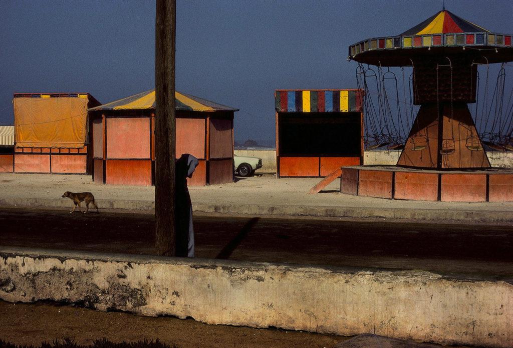 Photographie Kodachrome Harry Gruyaert Maroc Essaouira 1988