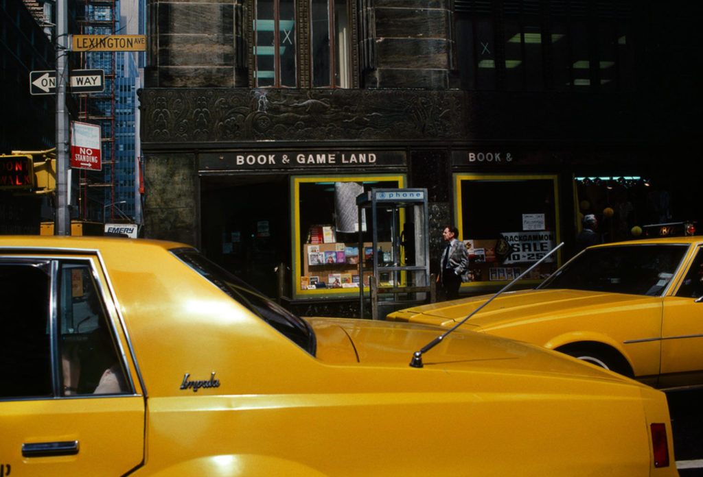 Photographie Kodachrome Harry Gruyaert New York 1982