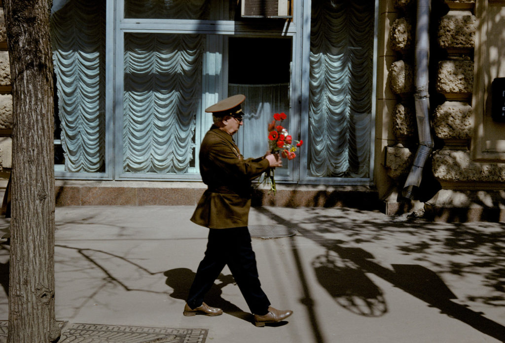 Photographie Harry Gruyaert Russie Moscou 1er Mai 1989