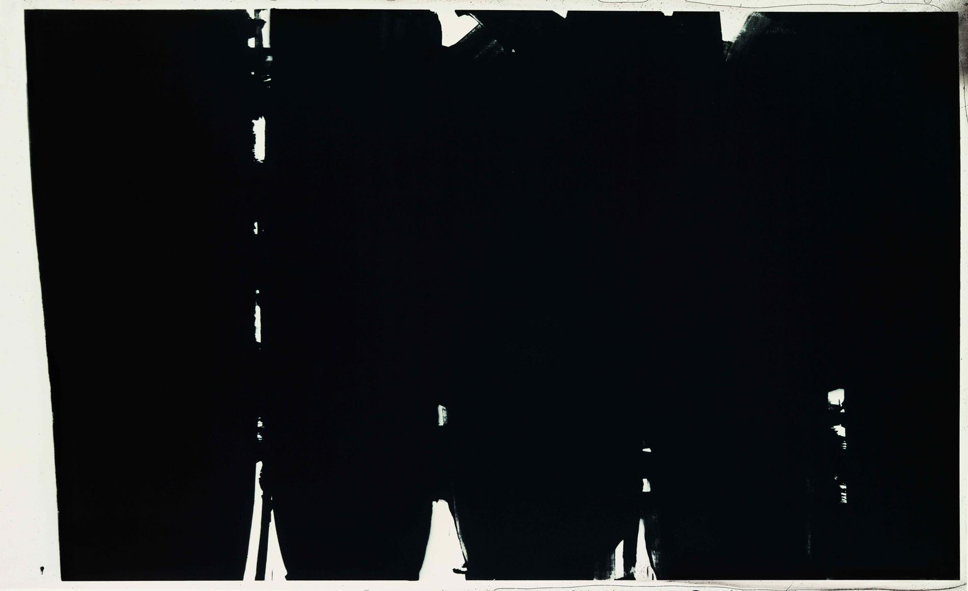 Pierre Soulages Peinture 220 x 366, 14 Mai 1968