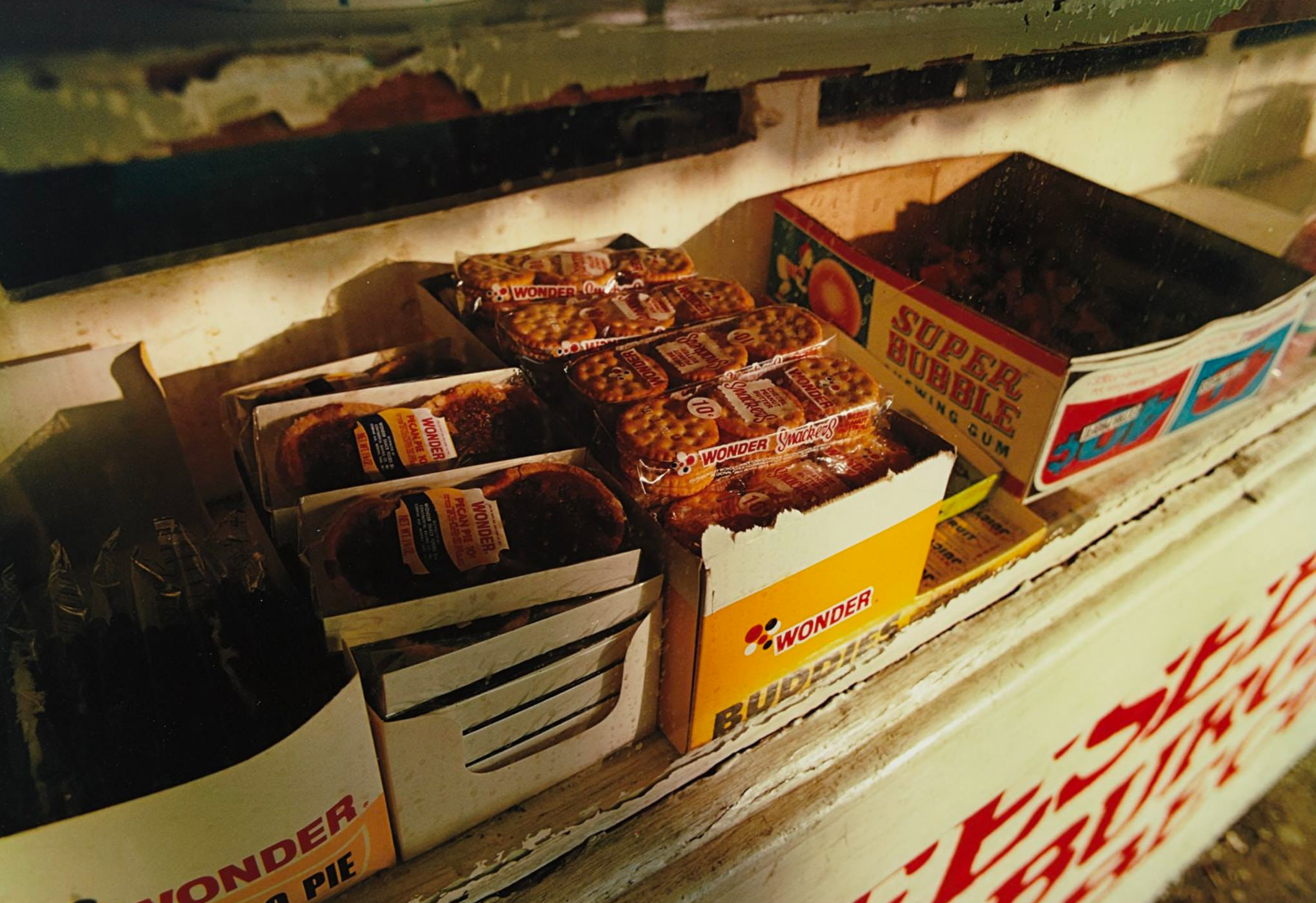 William Eggleston Photographie Morton Mississippi Snacks On Shelf 1971