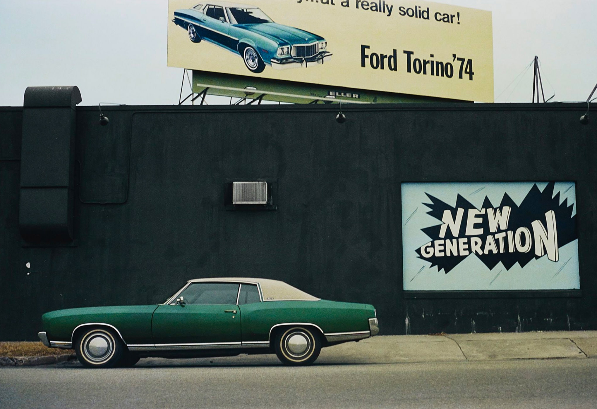 William Eggleston Photographie Untitled 1971-1974