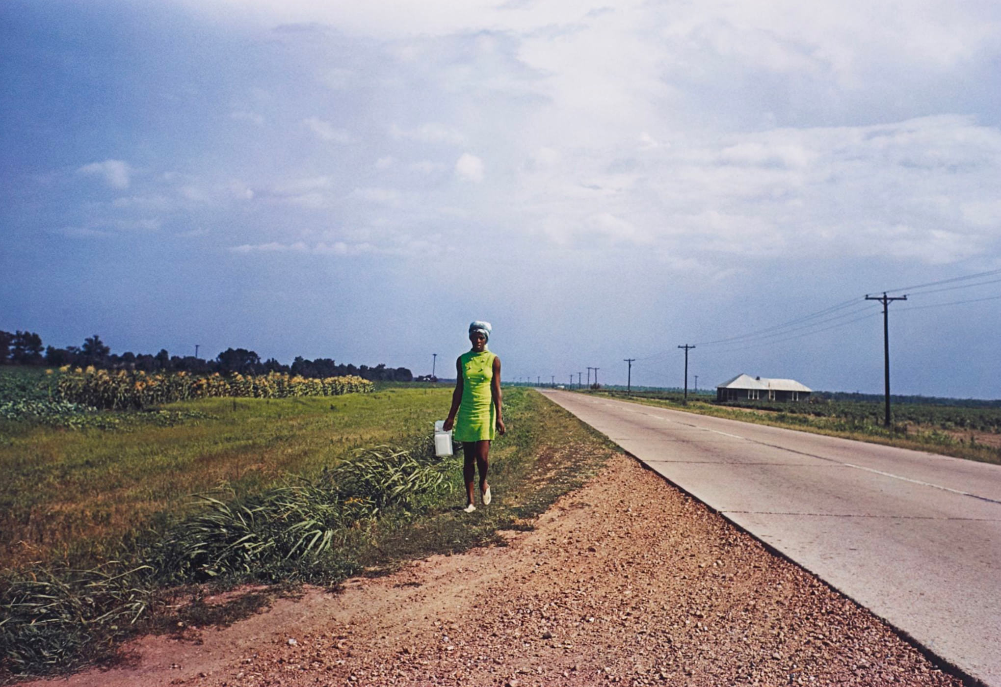 William Eggleston Photographie Untitled Near Minter City And Glendora Mississippi 1970