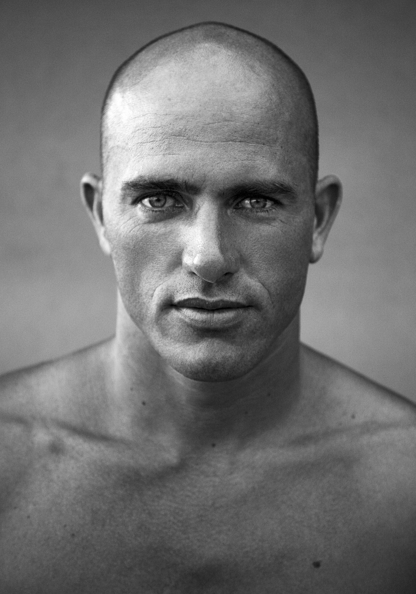 Kelly Slater Portrait. Photographie © Greg Nagel