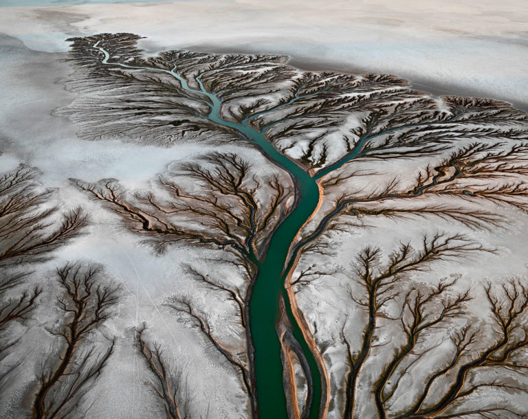 Edward Burtynski Photographie Colorado River Delta No2 Near San Felipe Baja Mexique 2011