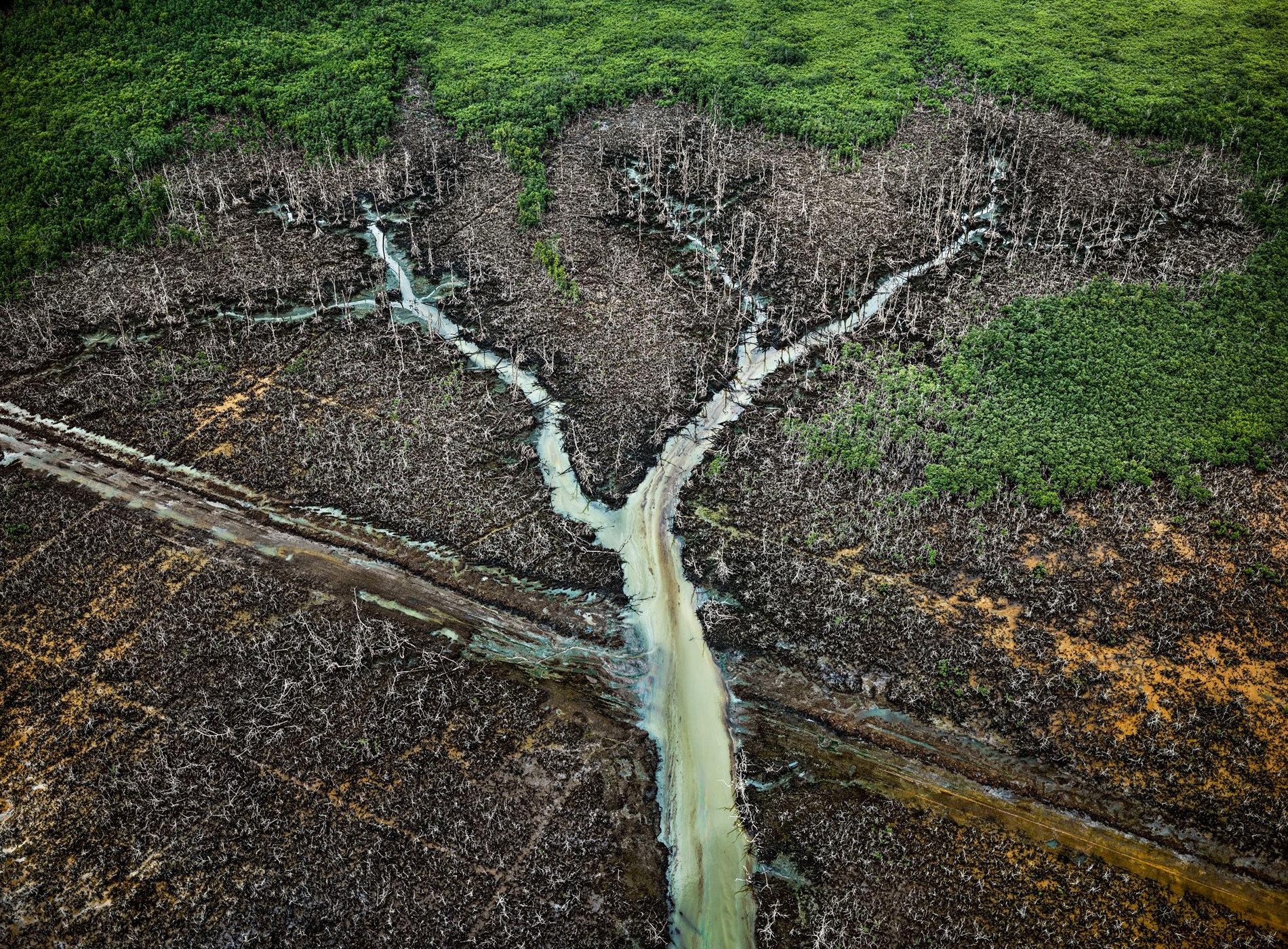 Edward Burtynski Photographie Oil Bunkering No2 Niger Delta Nigeria 2016