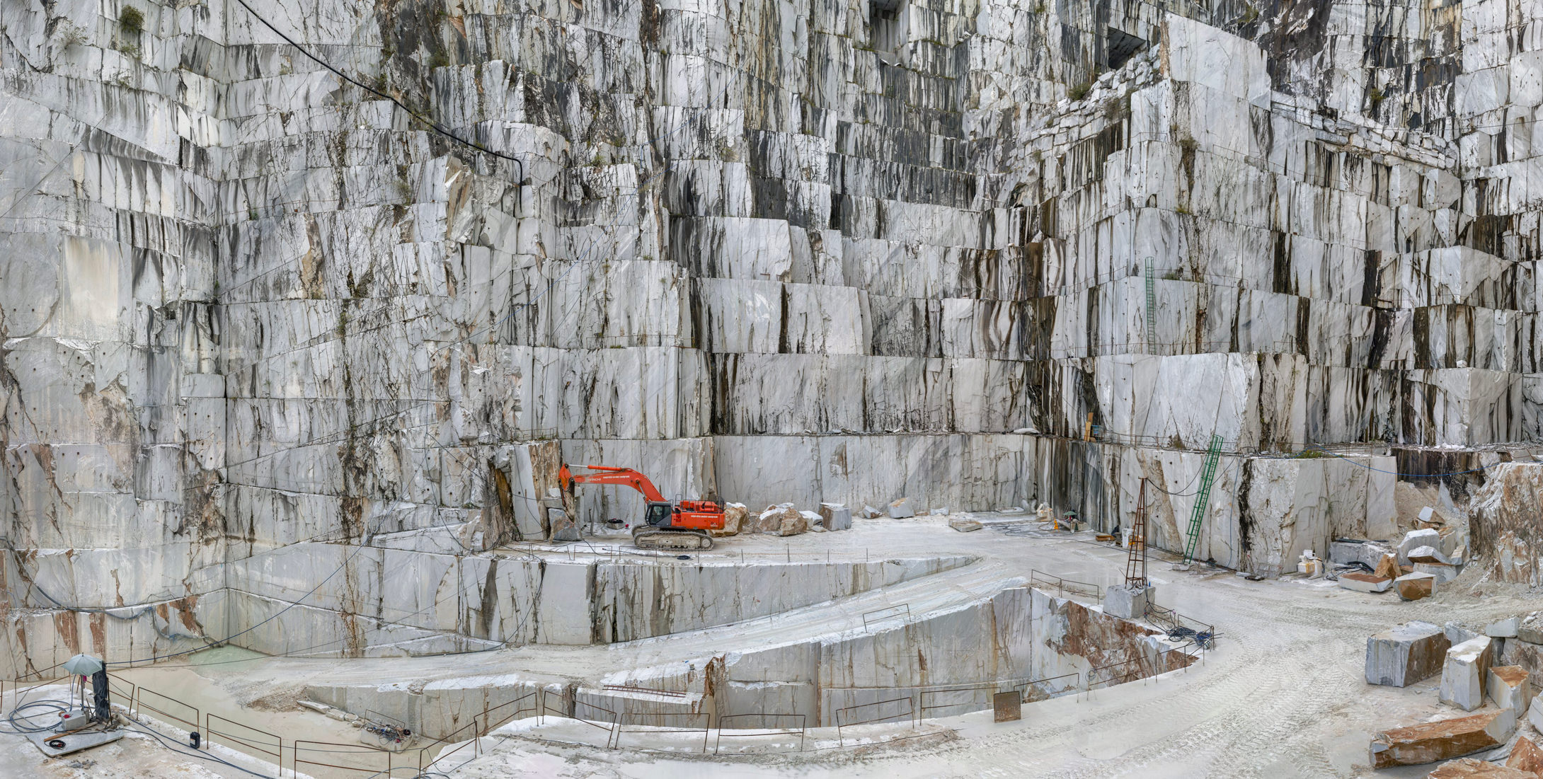 Edward Burtynsky Photographie Carrara Marble Quarries Cava Di Canalgrande No2 Carrara Italie 2016