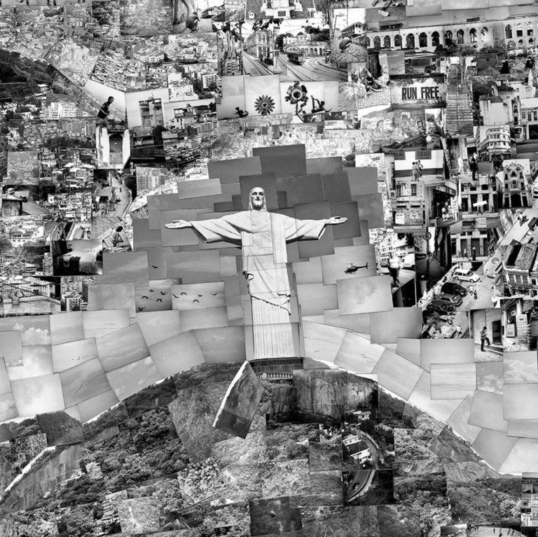 Sohei Nishino Photomontages Carte Diorama CityMaps Rio de Janeiro (Détails)