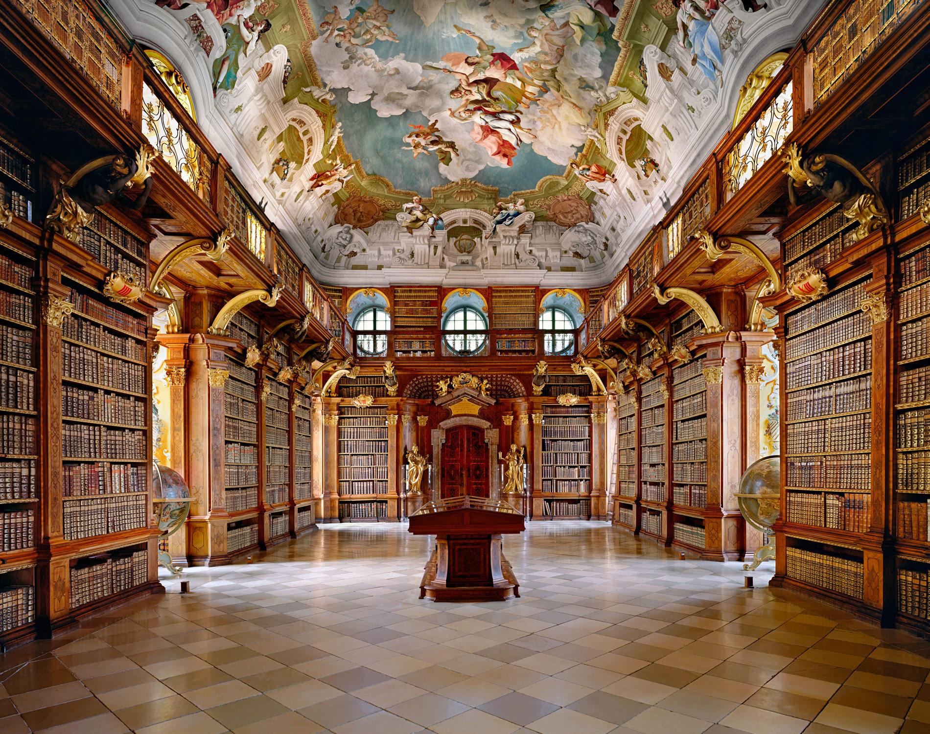 Ahmet Ertug — Bibliothèque de l'Abbaye de Melk, Autriche