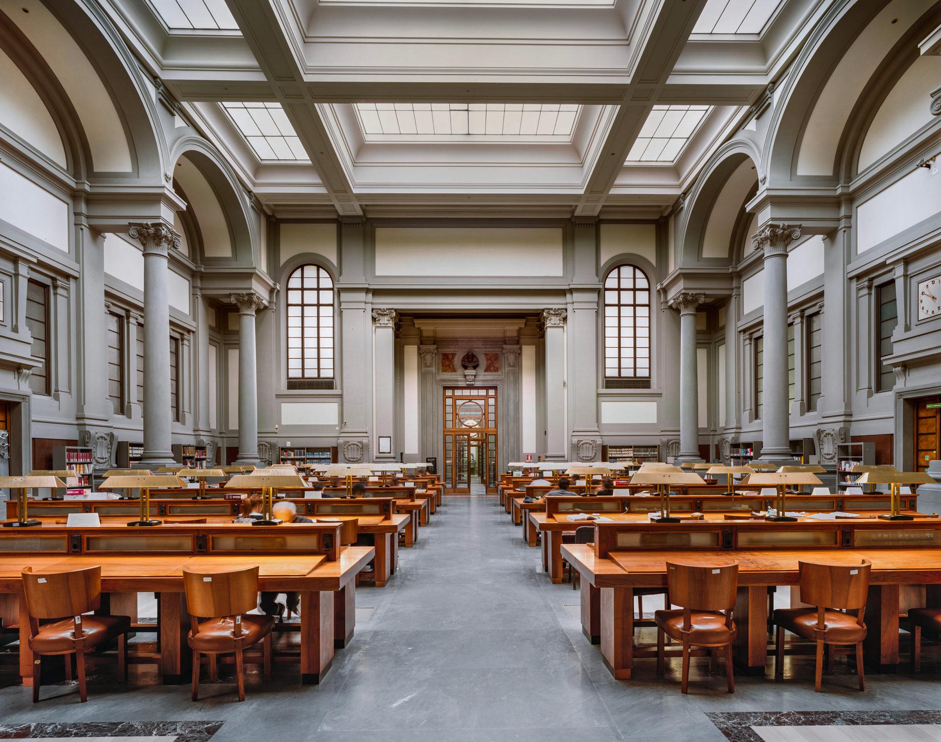 Ahmet Ertug — Bibliothèque Centrale Nationale, Florence