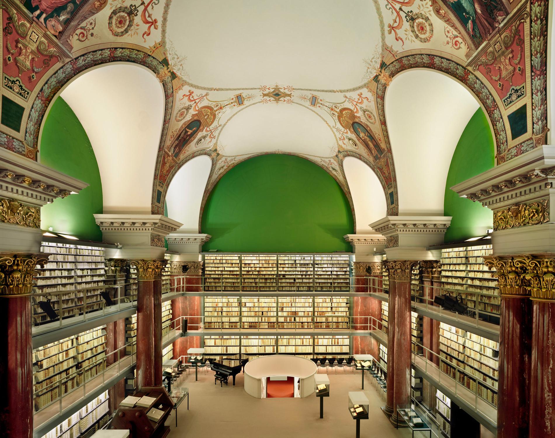 Ahmet Ertug — Bibliothèque Herzog-August, Wolfenbüttel, Allemagne