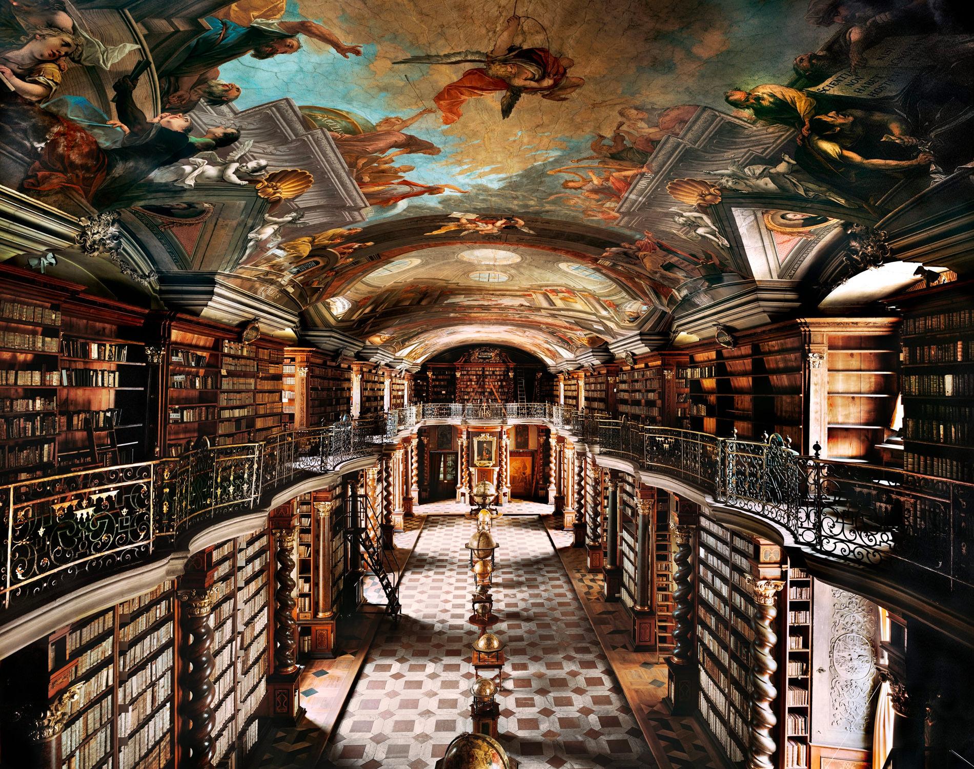 Ahmet Ertug — Bibliothèque Nationale, Prague