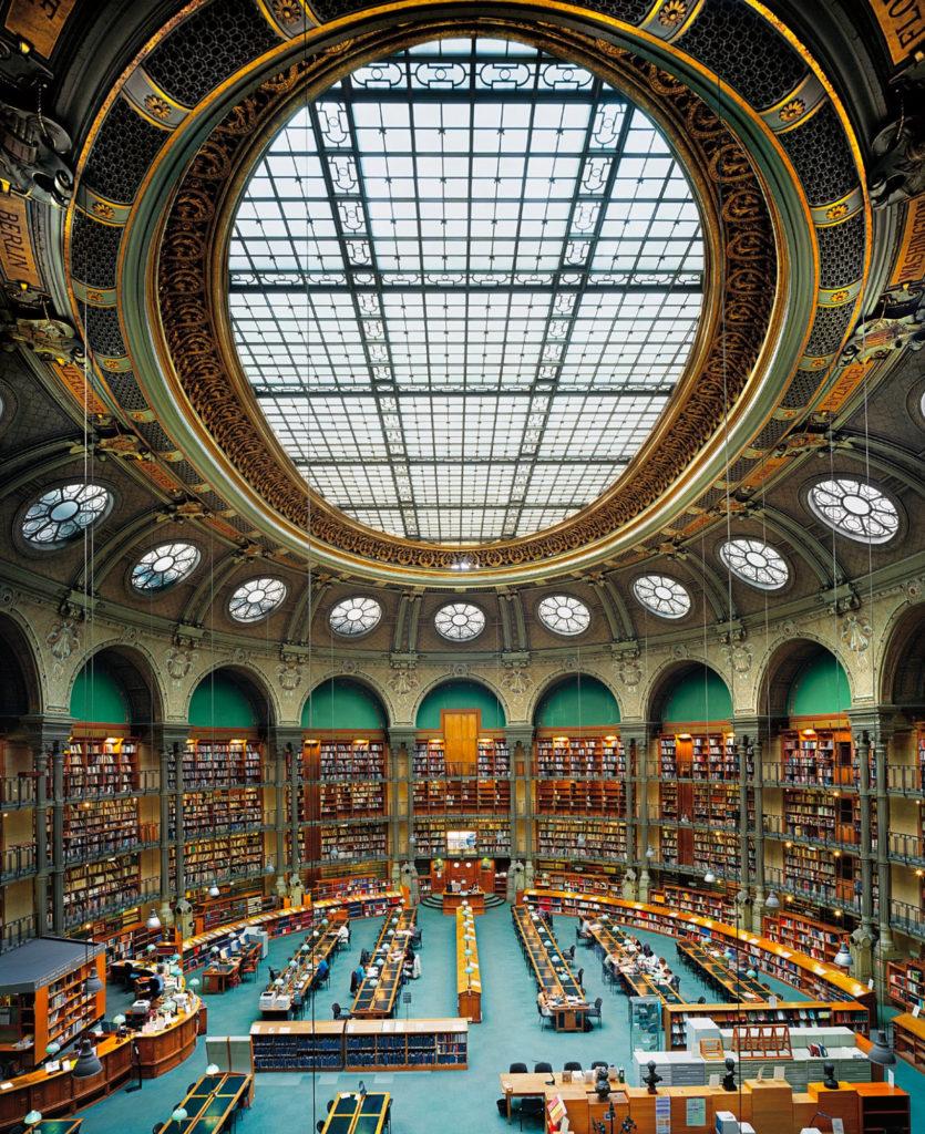 Ahmet Ertug — Bibliothèque Richelieu, Salle Ovale, Paris