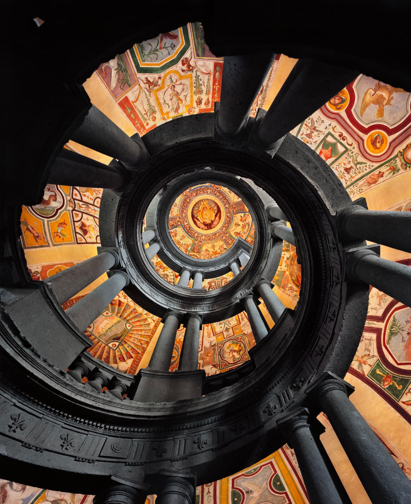 Ahmet Ertug — Escalier Royal de la Villa Farnese, Caprarola, Italie