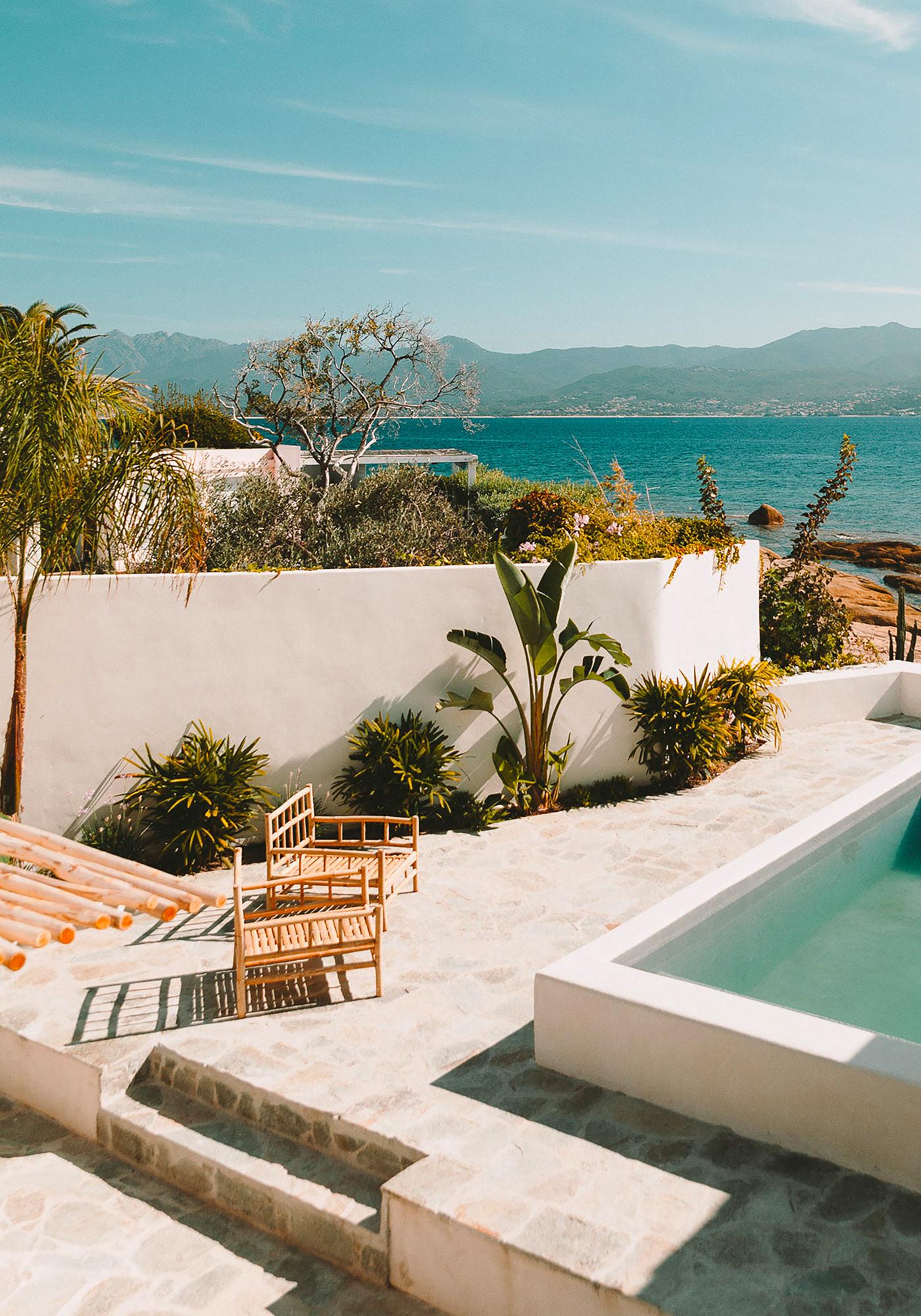 Corse Casa Santa Teresa House Maison d'Hôte Guest House Route des Sanguinaires
